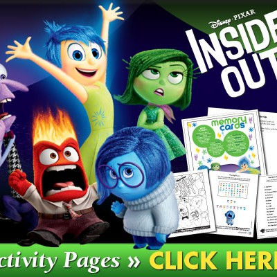 Disney's Inside Out Printables + Blu-ray Now Available