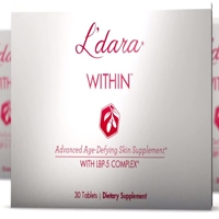 L'dara Within Advanced Age-Defying Skin Supplement