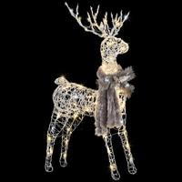 LightShow Frozen Fire Silver Vines Buck