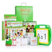 Teach My Preschooler Learning Kit - Deluxe