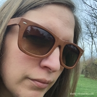 Bamboo Wood Grain Sunglasses
