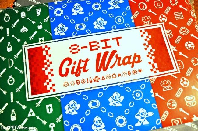 8-Bit Gift Wrap