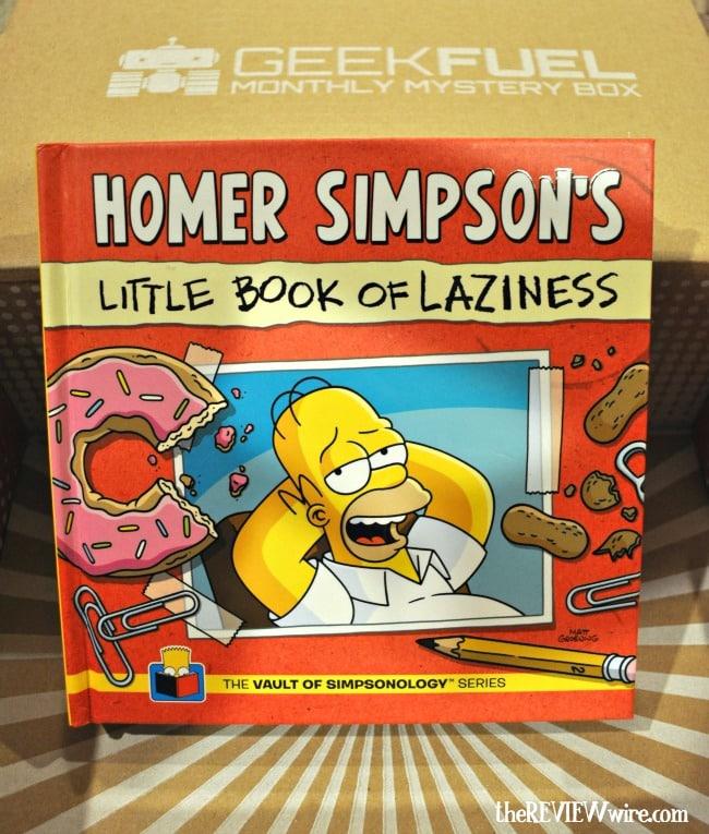 Homer Simpson Book