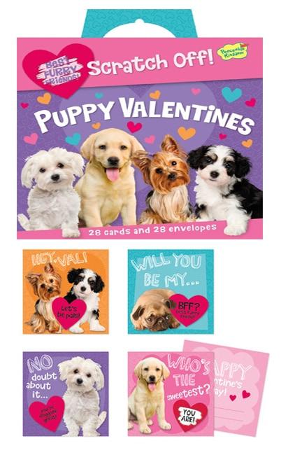 Puppy Love Scratch-Off Cards