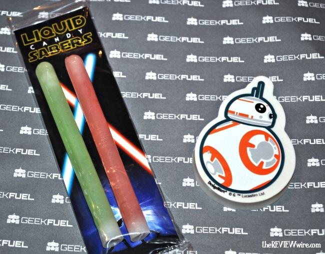 Star Wars Candy & BB-8 Eraser