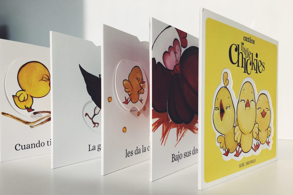 Accordion Little Chickie Book