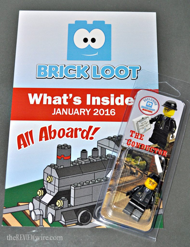 BrickLoot What's Inside January 2016
