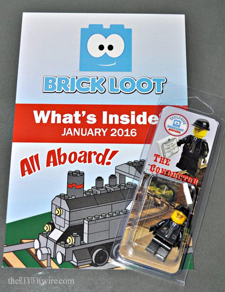 BrickLoot What's Inside January 2016