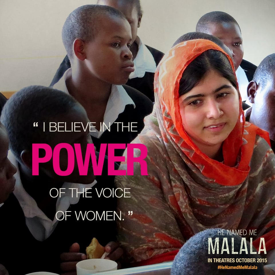 He Named Me Malala - power