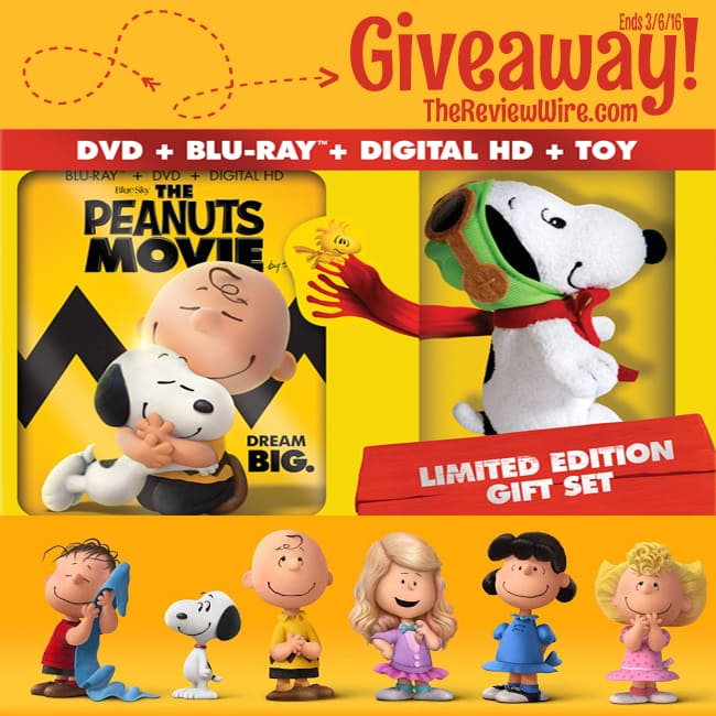 Peanuts Movie Giveaway