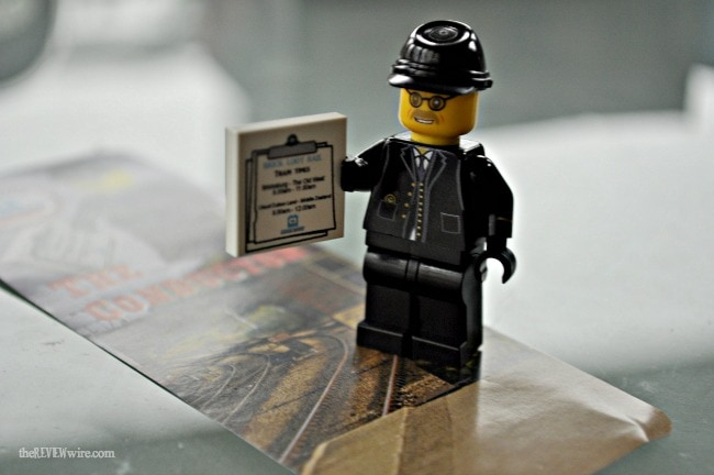 The Conductor Minifigure by United Bricks