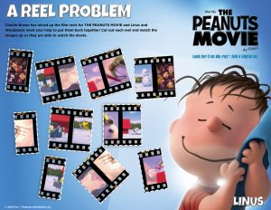 Peanuts Movie Printable Activities