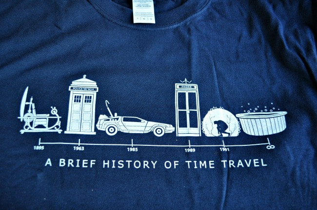A Brief History Of Time Travel Shirt