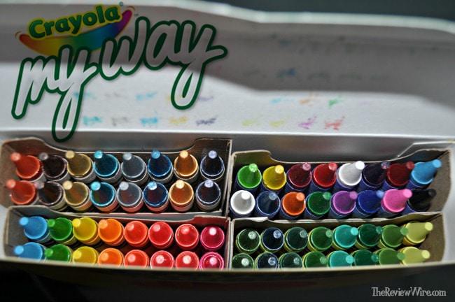 Crayola Crayon Selection - Personalized Crayon Box