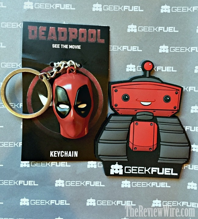 Deadpool Keychain February Geek Fuel