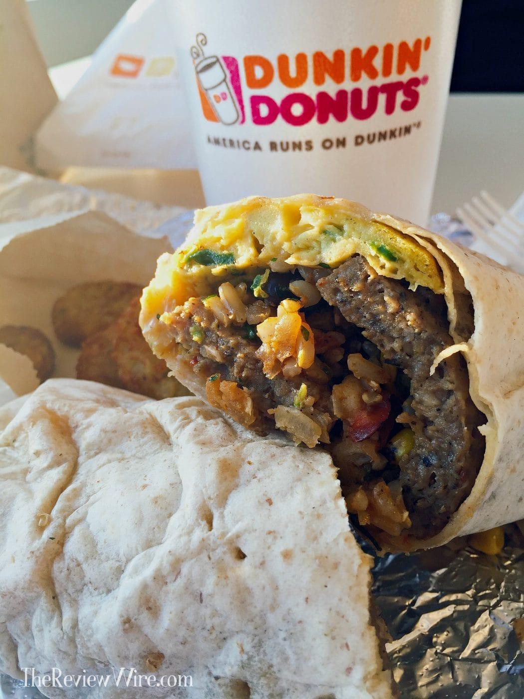 Dunkin' Donuts GranDDe Burrito