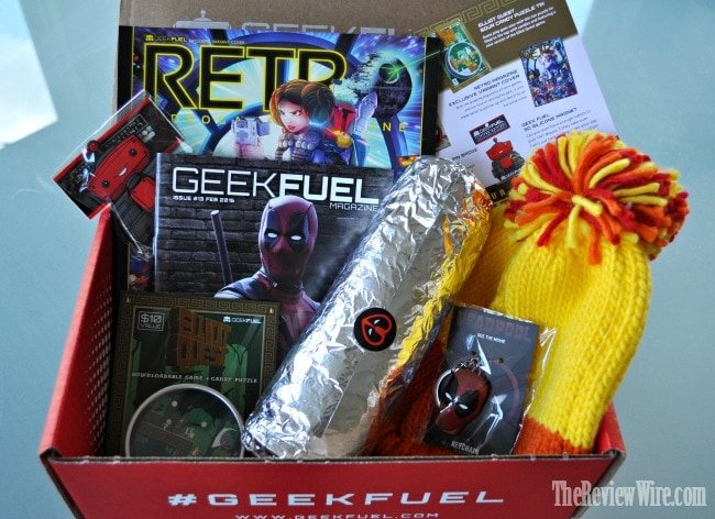 Geek Fuel February Box
