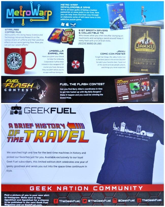 Geek Fuel January Sneak Peek