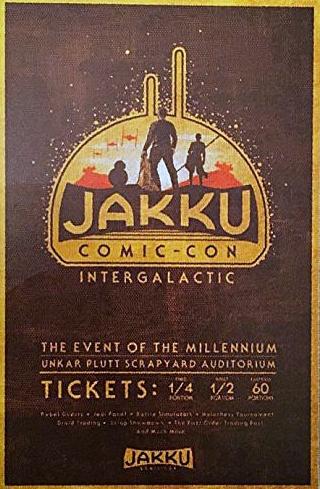 Jakku Comic Con Poster