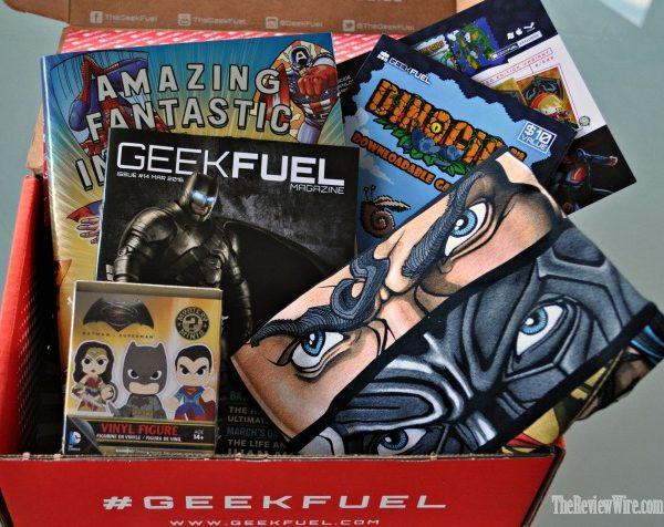 March Geek Fuel Box