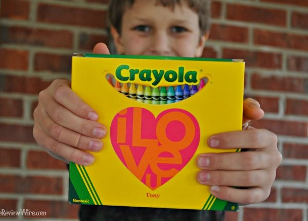 Personalized Crayola Box - The Review Wire