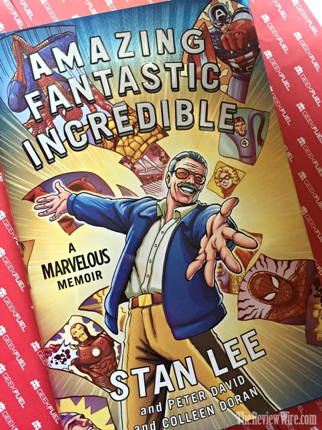 Stan Lee Memoir Book