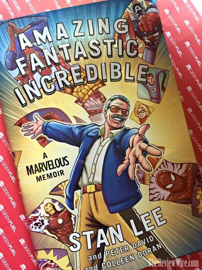 Stan Lee Memoir Book