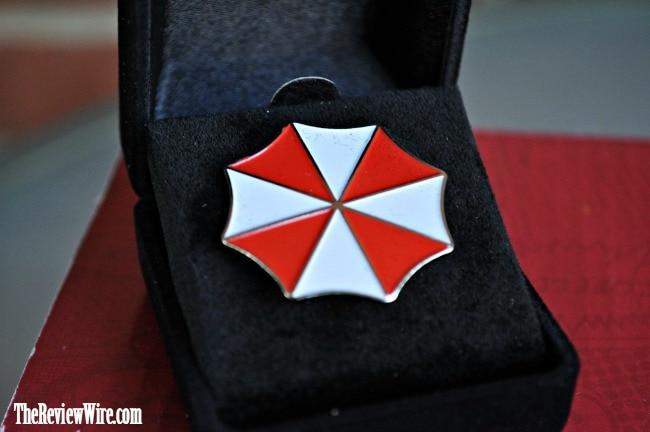 Umbrella Enamel Pin
