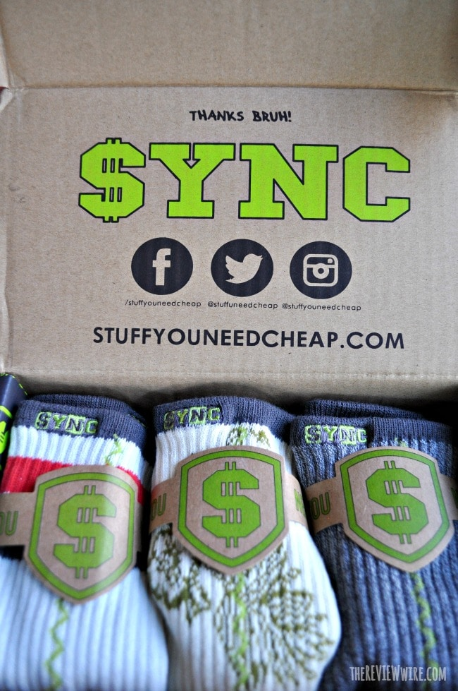 SYNC Sock Box