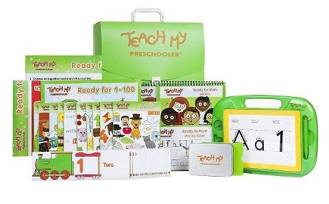 Teach My Preschooler Learning Kit
