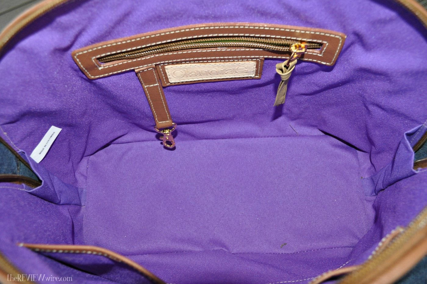 ClaudiaG Antonia Handbag Inside Look