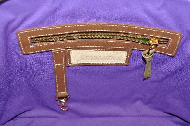 ClaudiaG Antonia Handbag Inside Zipper