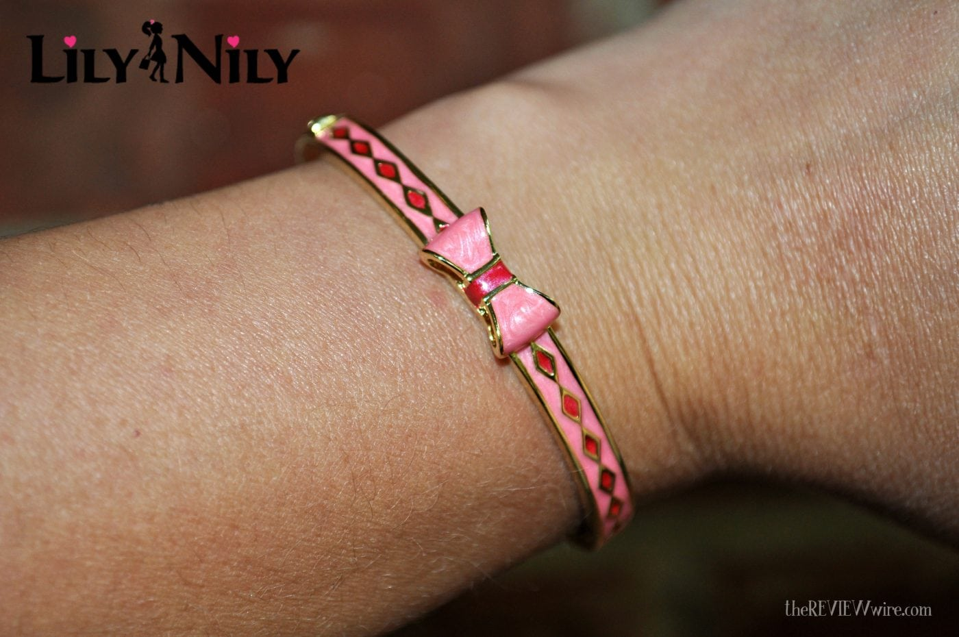 Lily Nily Bow Bangle