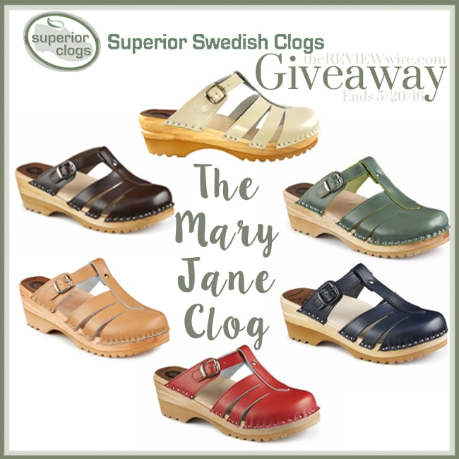 Superior Swedish Clog Giveaway