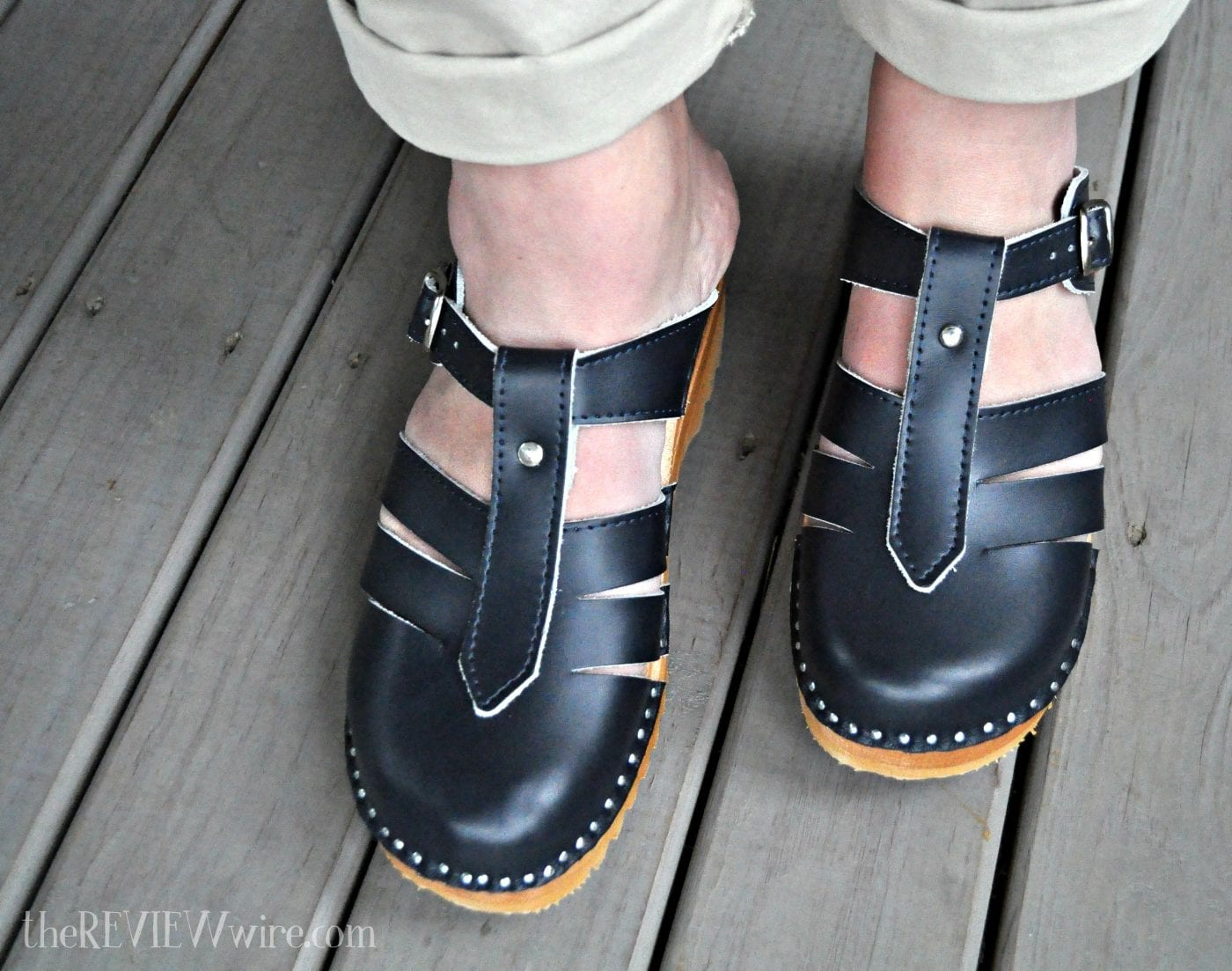 Superior Swedish Clogs Navy Mary Janes