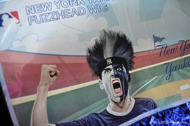 Yankees Fuzz Head Wig