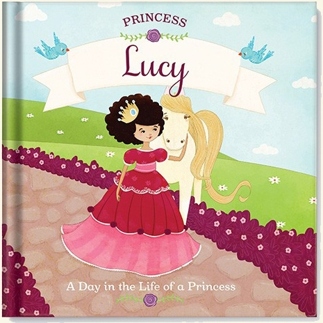 personalized princess book Day in the Life of a Princess
