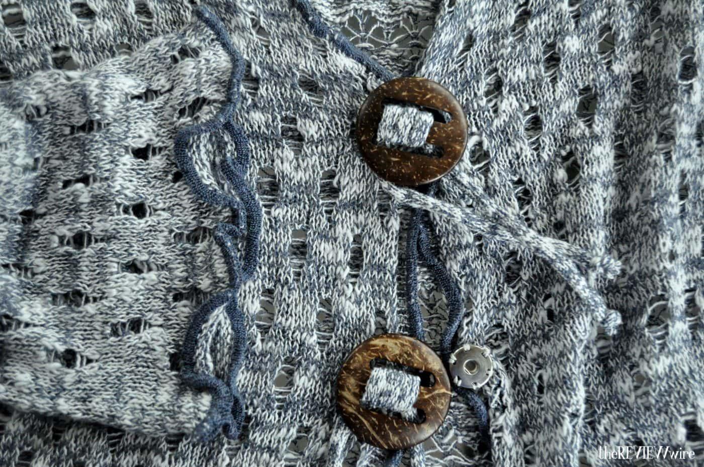 Chadwicks Coconut Button Cardigan