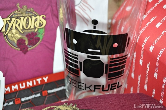 Geek Fuel Glass