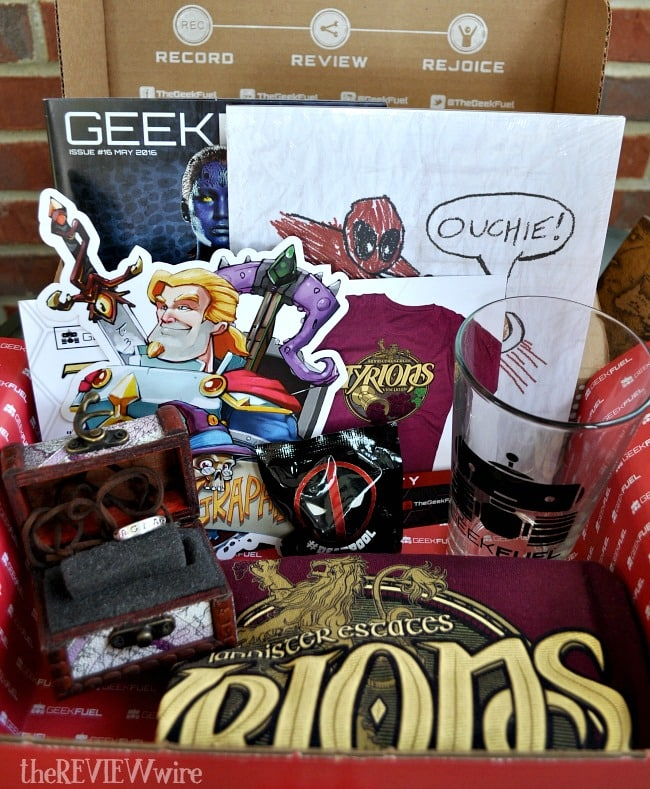 Geek Fuel May 2016