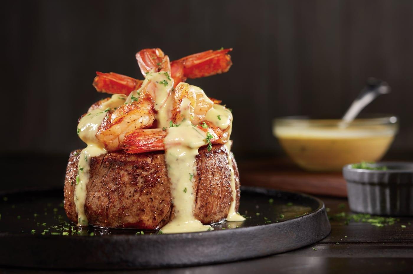 Bearnaise topped Filet