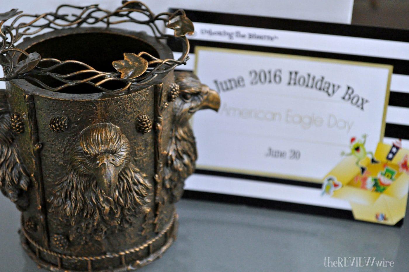 Bronze Eagle Mug