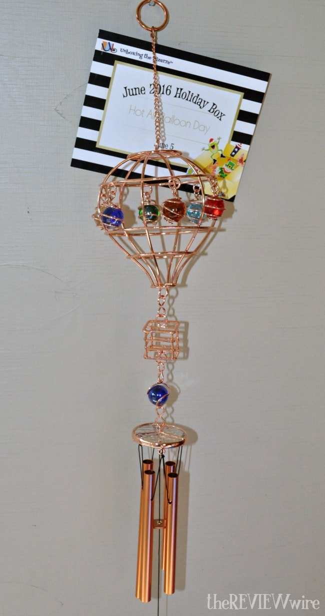 Hot Air Ballon Wind Chime