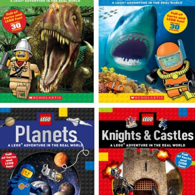 Learn with LEGO Nonfiction Books: An Adventure in the Real World!