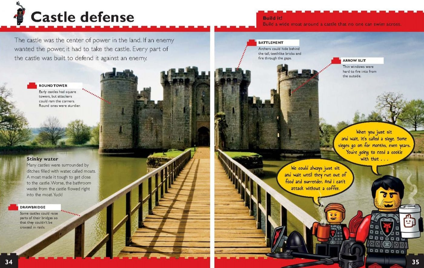 LEGO Nonfiction Knigths and Castles