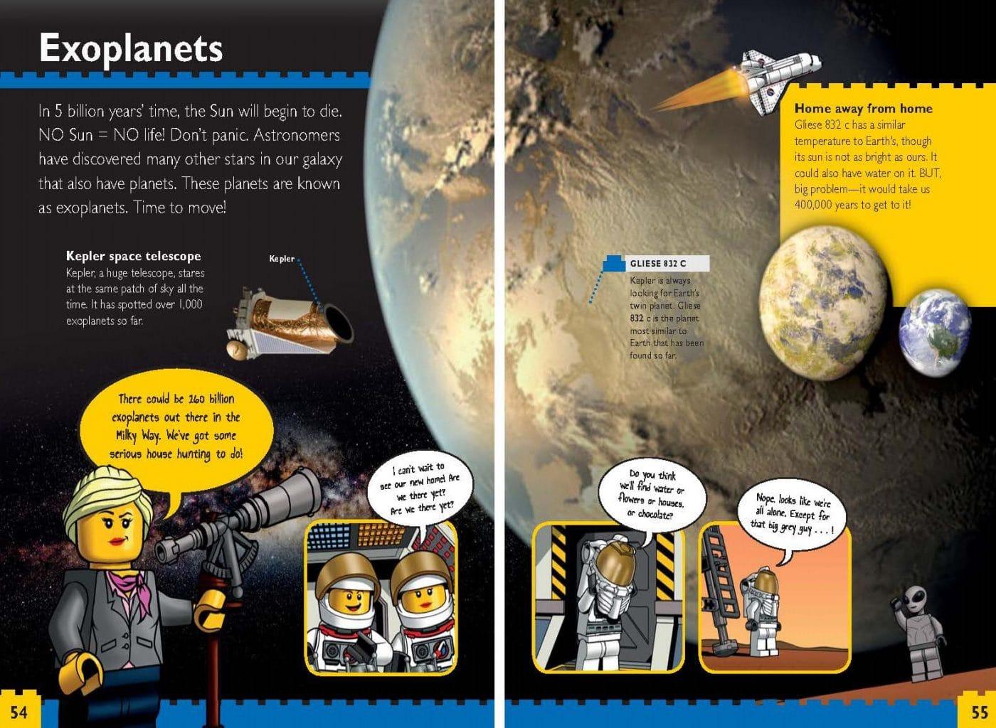 LEGO Nonfiction Planets