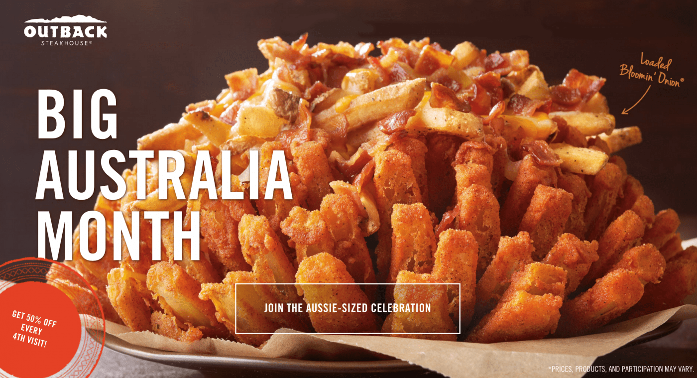 photo relating to Outback Printable Menu named Consist of On your own Observed the Fresh Outback Steakhouse Significant Australia Menu?