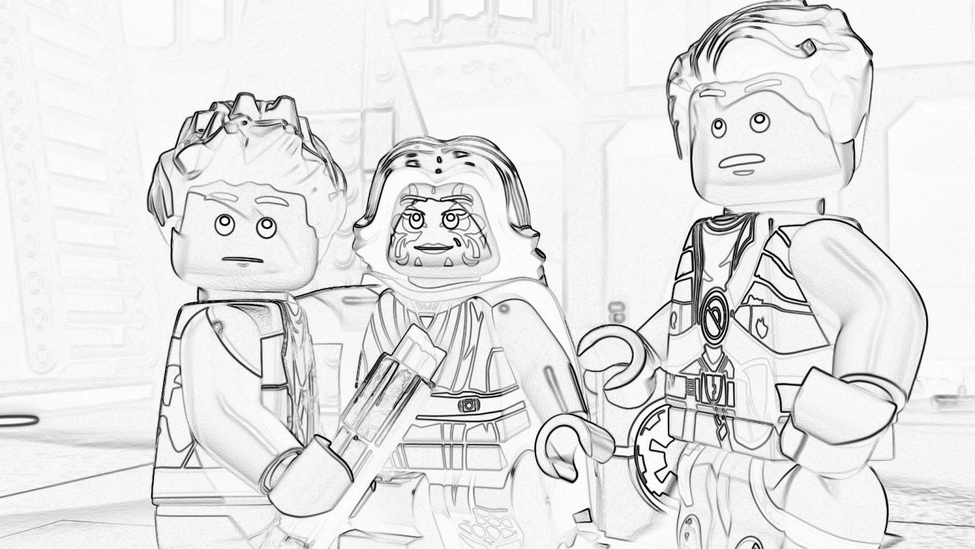 Lego Star Wars Coloring Pages The Freemaker Adventures