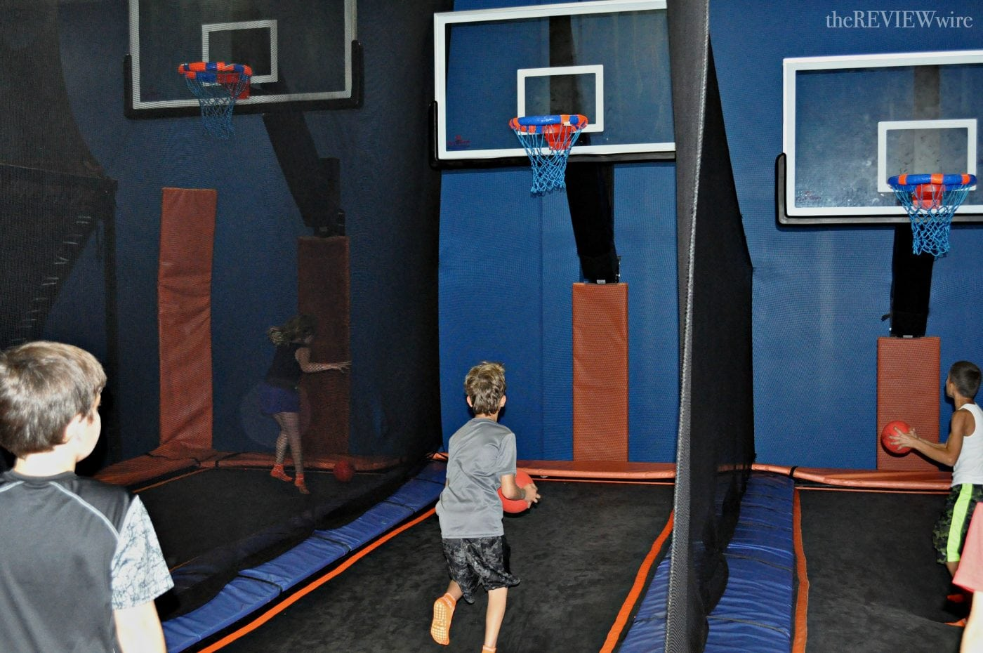 Sky Zone Basketball - The Review Wire