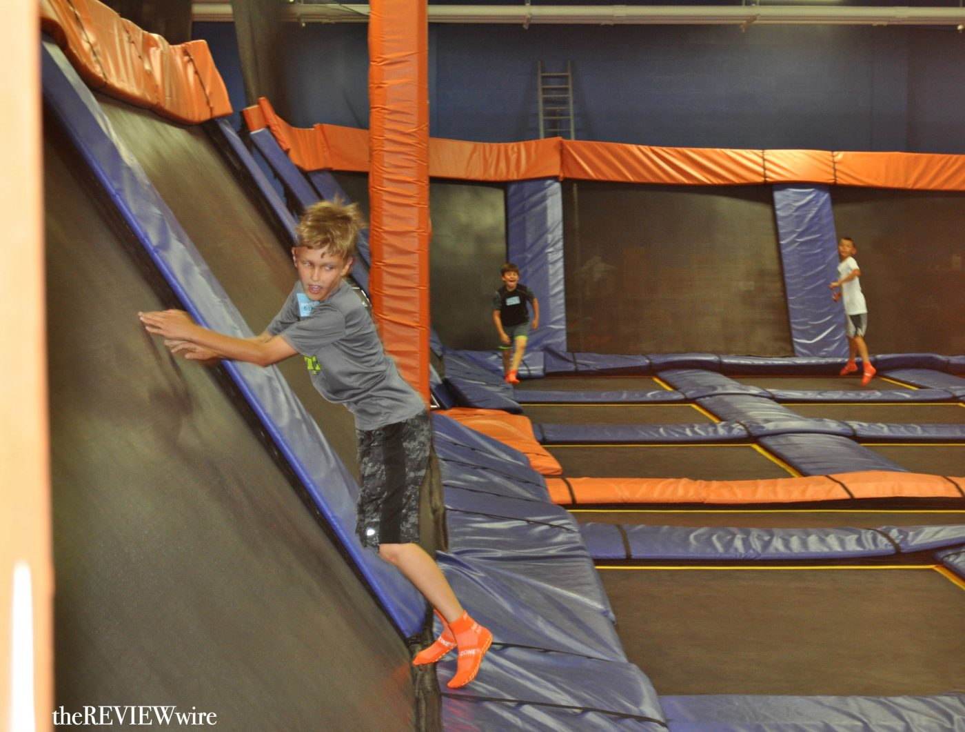 Sky Zone Bouncing Off The Walls The Review Wire